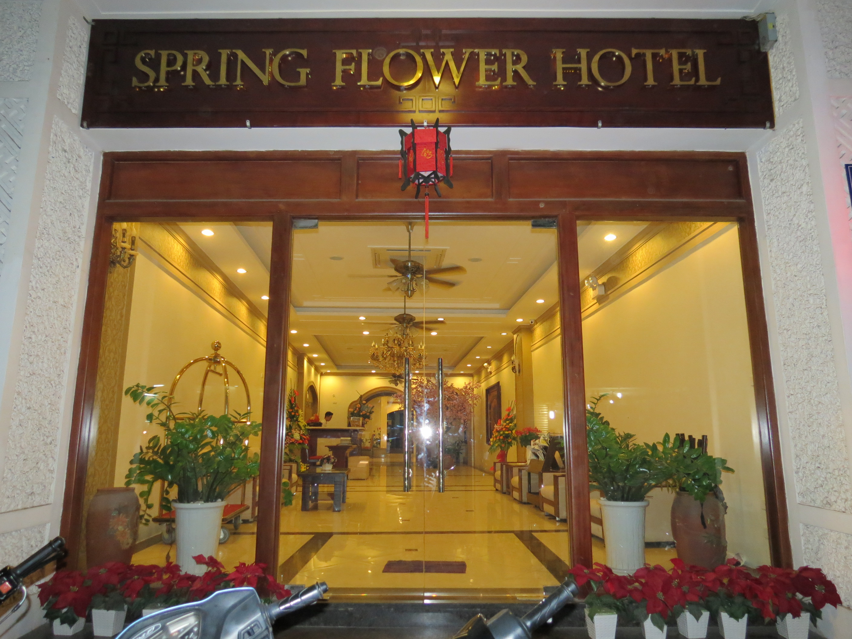 Hotel review spring flower hotel the world by faith and housing the best restaurants the city has to offer is the old quarter tucked in one of the streets therein is spring flower hotel mightylinksfo