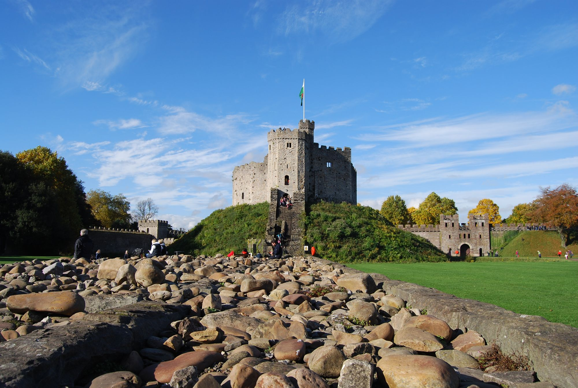 when in wales cardiff castle the world by faith. Black Bedroom Furniture Sets. Home Design Ideas